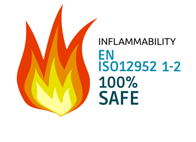 EN ISO12952 1-2 - Inflammability norm